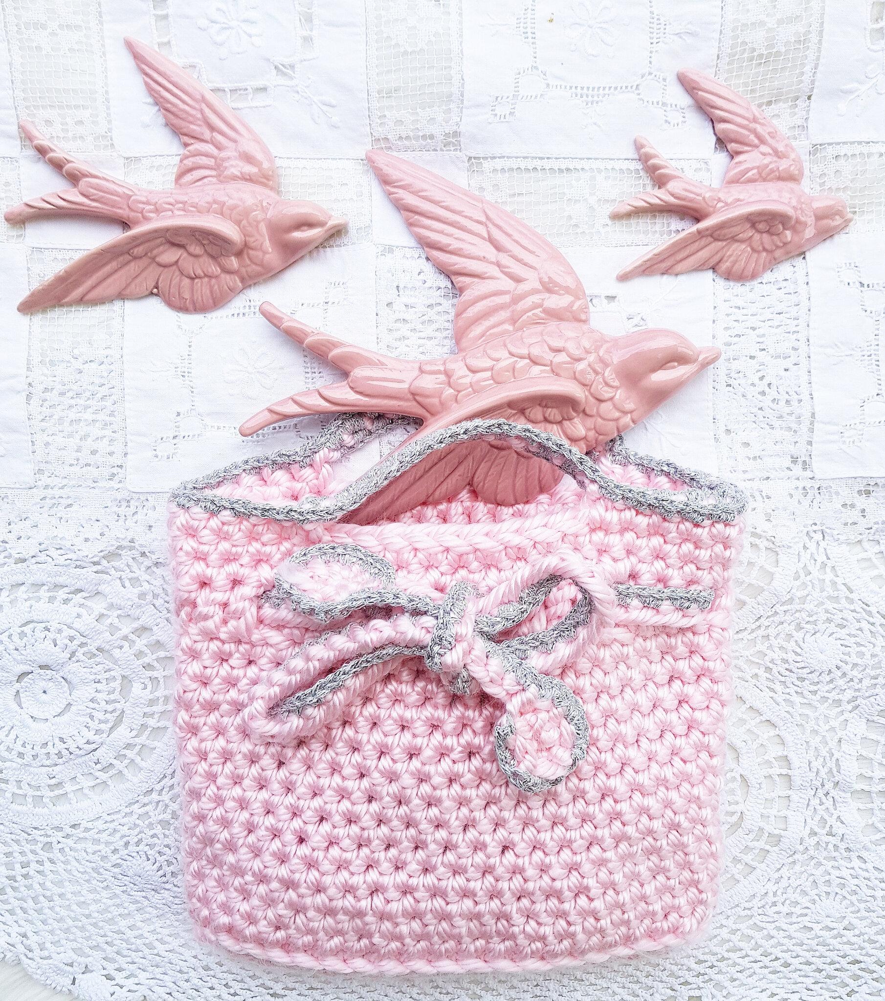 vanillejolie crochet bag