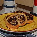 Palmiers choco-banane