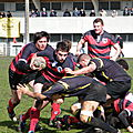 12-13, juniors x Stade Bordelais, 30 mars 13
