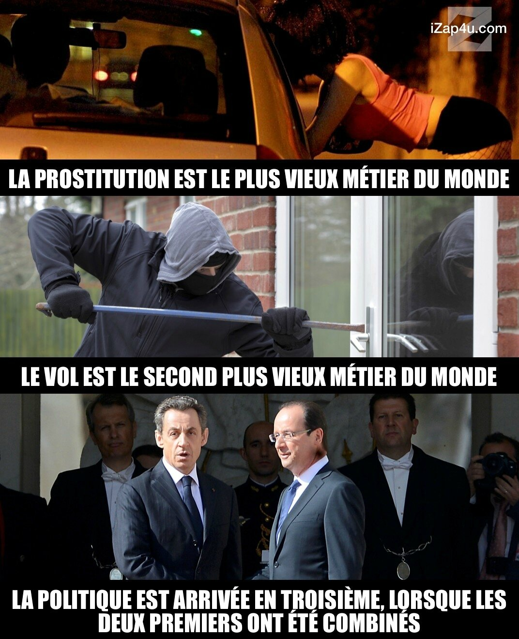 Macron : le rassemblement des pourris