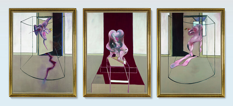 10370 Lot 105 - Francis Bacon, Triptych Inspired by… of Aeschylus