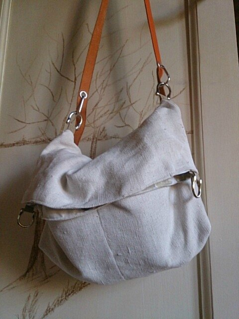 SAC CHANVRE ANCIEN VERSION BESACE