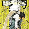 _death note_ tome 5 de tsugumi ohba (2003)