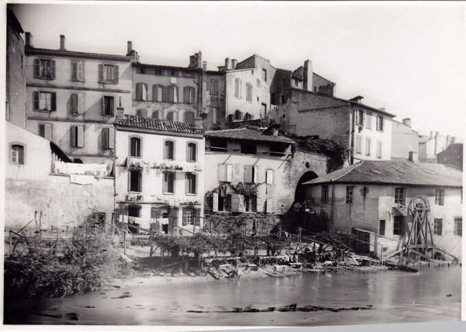 Tounis et les bords de la Garonnette photo 1, archives des Toulousains de Toulouse copiecompress