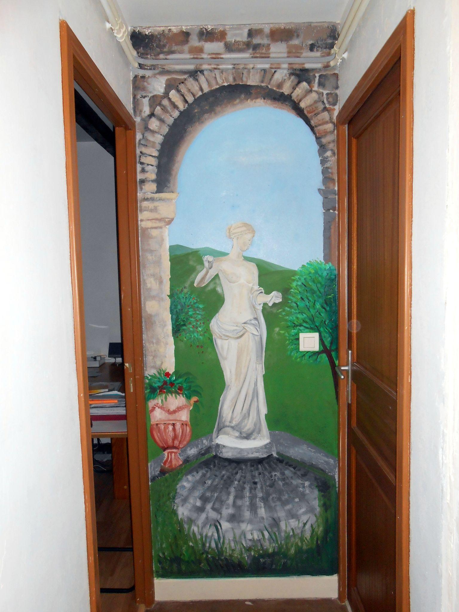 Vénus à Florence, acrylique sur gesso, novembre 2013
