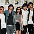 City of Bones Cast at Comic Con 2013