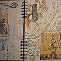 Carnet de dessins et d'inspiration