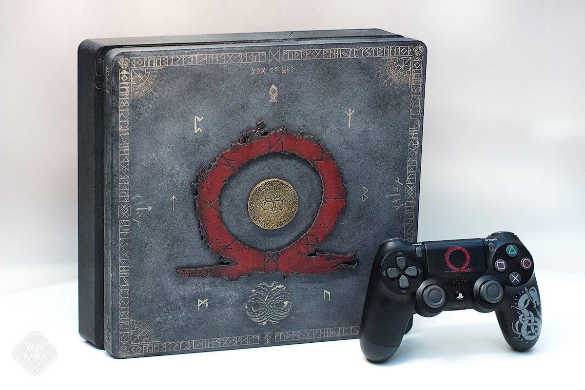 God of War Playstation 4 - Futhark