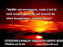 Citation Augustin Sainte Beuve