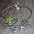 Parure collier/bracelet réf al1625