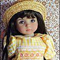Isabelle en chapeau