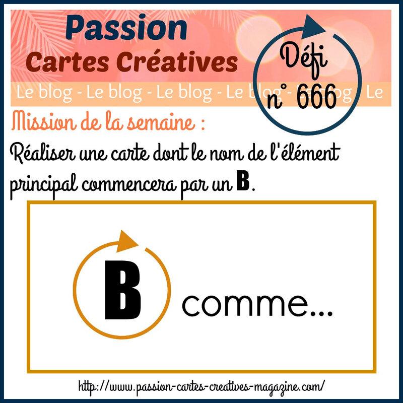 666-26 nov - B COMME