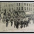 Versailles - Catastrophe du dirigeable République 1909 funérailles
