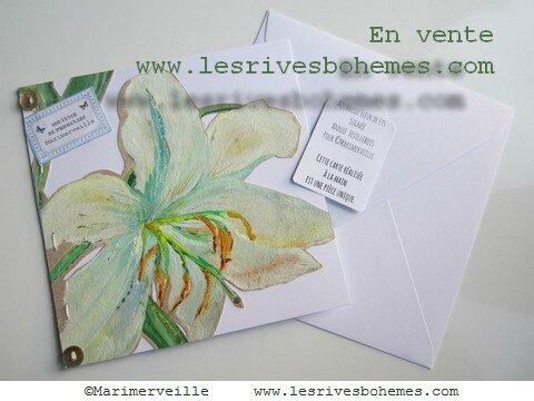 Marimerveille Carte Fleur de Lys 2