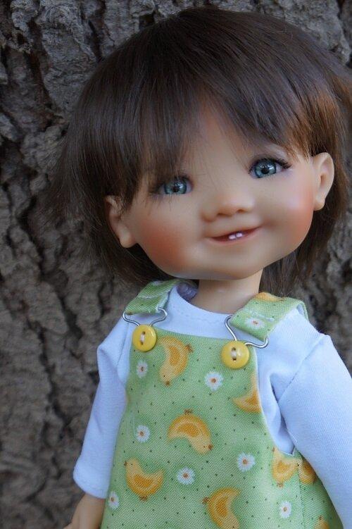 Les petites robes à bretelle de Gigi Meadowdolls !