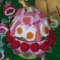 Oeuf de Pâques en bonbons