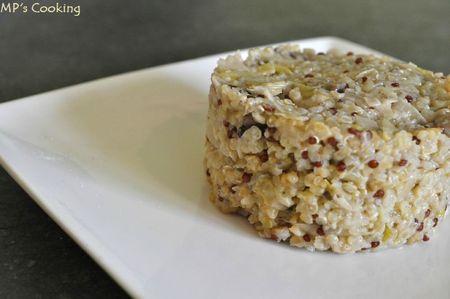 Risotto de Boulgour & Quinoa aux Poireaux et aux ...