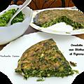 La trouchia - omelette aux blettes -