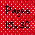 Pages 15x30cm