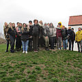 2019-03-12 guided walk with students of vives high school in bruges