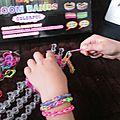 Les bracelets elastiques (loom band)