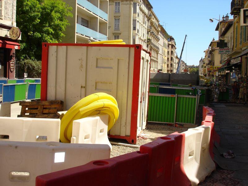 chantier u tramway de nice N° 6 035