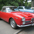 L' alfa roméo 2600 spider 1963 (33ème internationales oldtimer-meeting baden-baden)