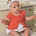 Veste printanière pour bébé