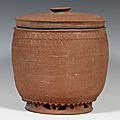 Storage Jar with Lid, Vietnam, Lý -Trần dynasty (1009-1400), 11th century
