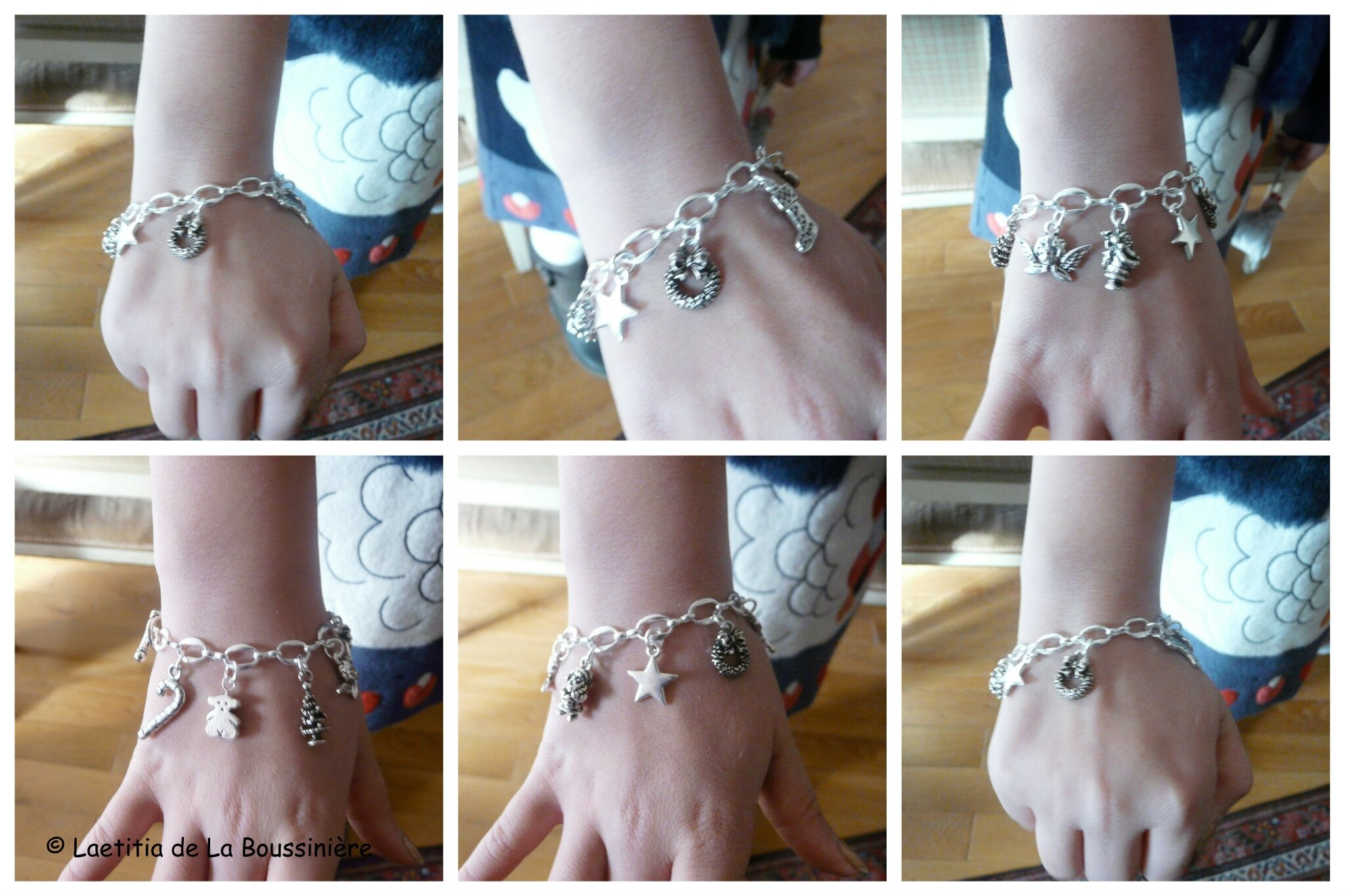 Le bracelet de Noël de Camille