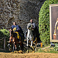 Croisade : guy de lusignan à la rencontre du roi d'angleterre richard cœur de lion.