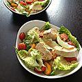 Salade de poulet thaïe