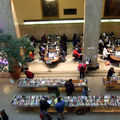 Book sale at the central library