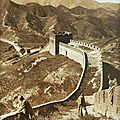 China's great wall is disappearing due to adverse natural conditions and reckless human activities
