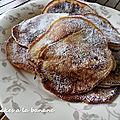 Pancakes a la banane