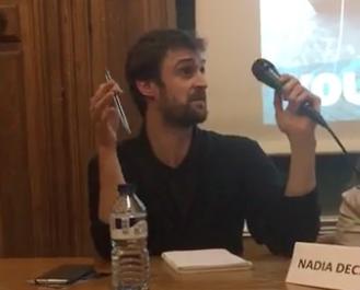 Mathieu Colleter, conférence Océans de demain 290318
