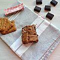Brownies chocolat noir & spéculoos