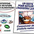Mobilisons-nous contre la crise du lait !