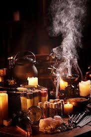 Black magic ritual to attract money