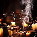 Ritual of black magic to attract wealth and love