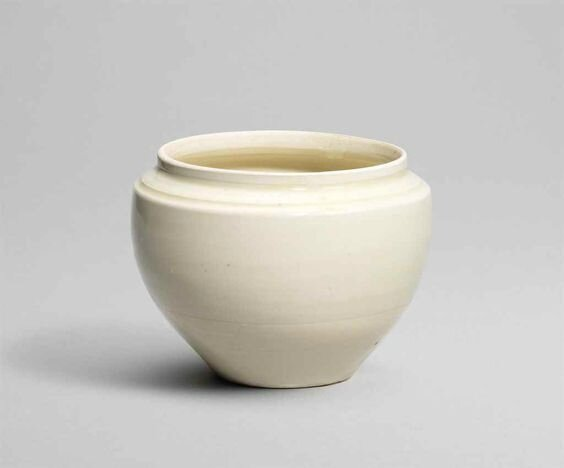 A Ding globular jar, Northern Song dynasty (960-1127)