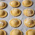 Raviolis au potimarron à la mostarda et aux amaretti (tortelli di zucca)