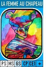 37-La femme au chapeau