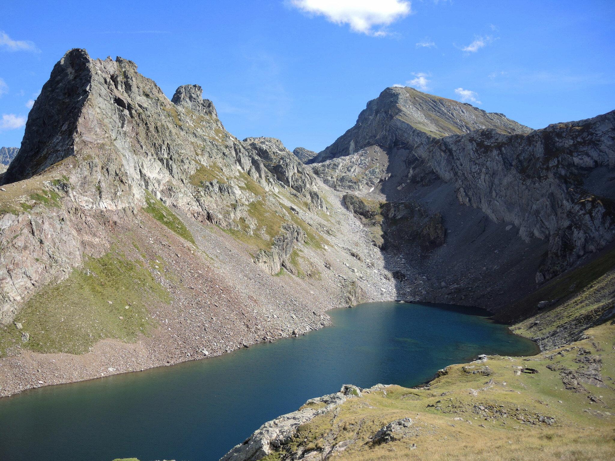 Lac d'Arrious, randonnée, m) Lac d'Arrious, pics du lac et d'Arriel (64)