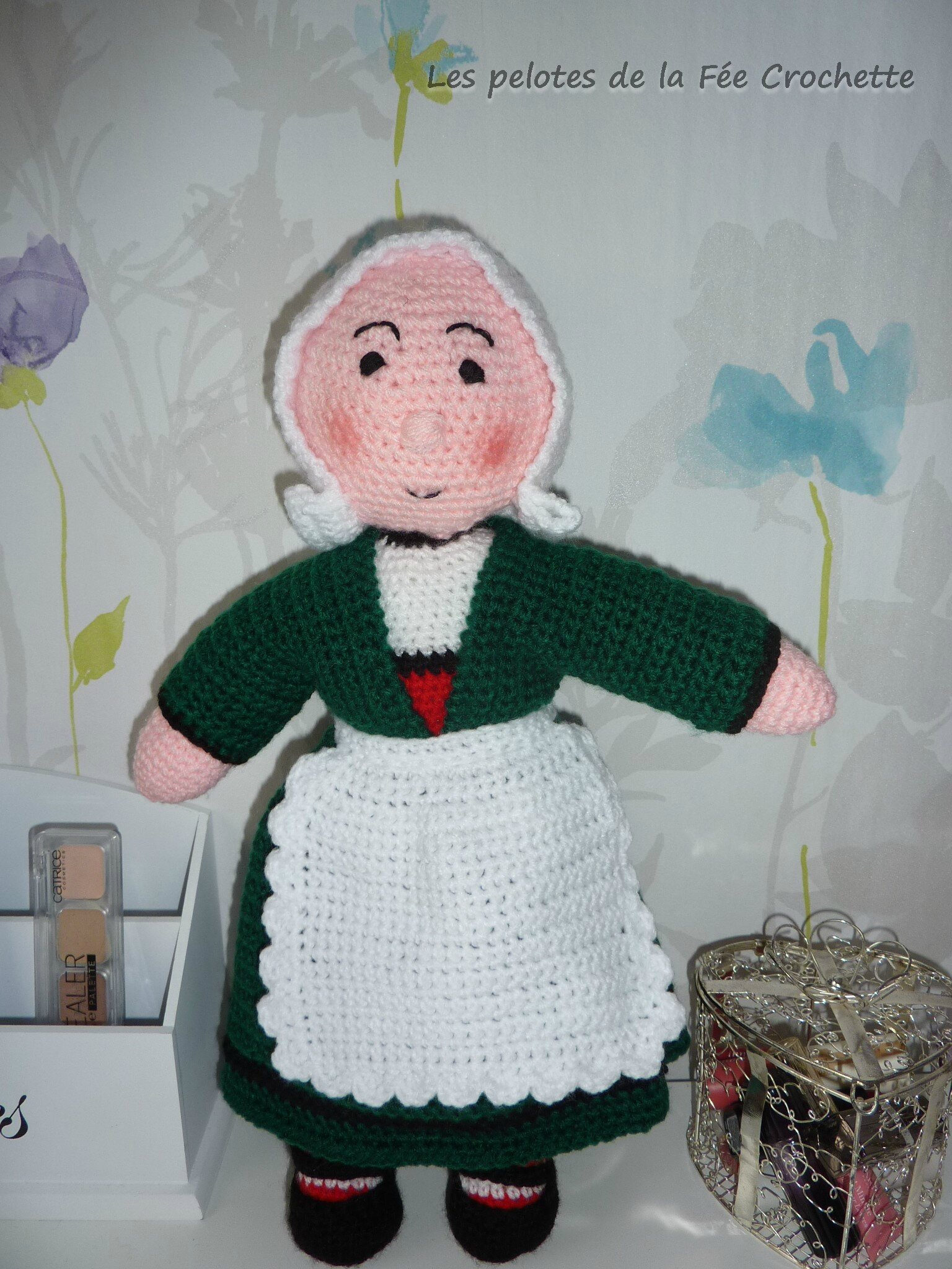 Bécassine crochet