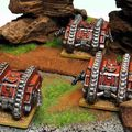 Epic 40k : détachement de land raiders