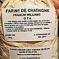 Franchi williams (farine de châtaigne d'ota-corse)