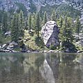 Lac Vert de Fontanalba, Mercantour