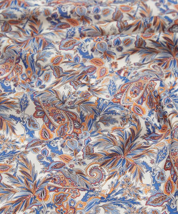 Far Away Paisley bleu orange +
