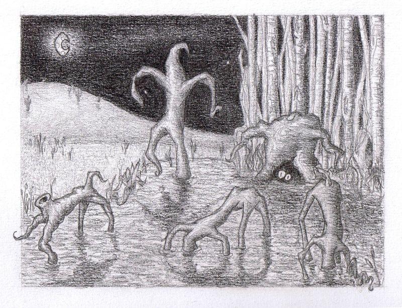 Les arbres qui marchent